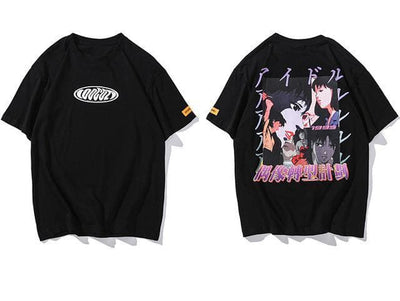 T-SHIRT ANIME - NOIR / M