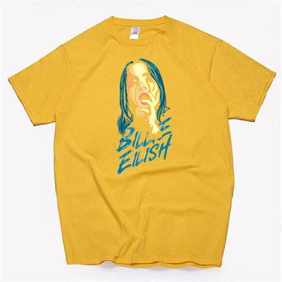 T-SHIRT BLUE DEMON - Jaune / L