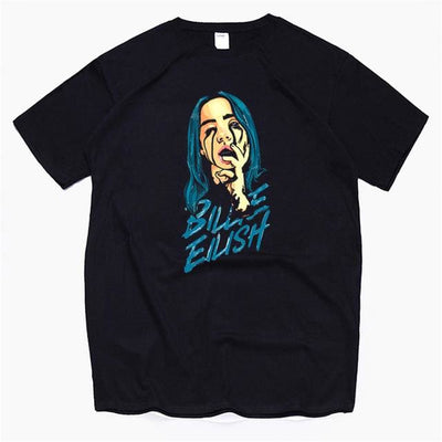 T-SHIRT BLUE DEMON - Noir / L
