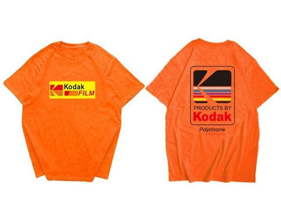 T-SHIRT KODAK - Orange / XS