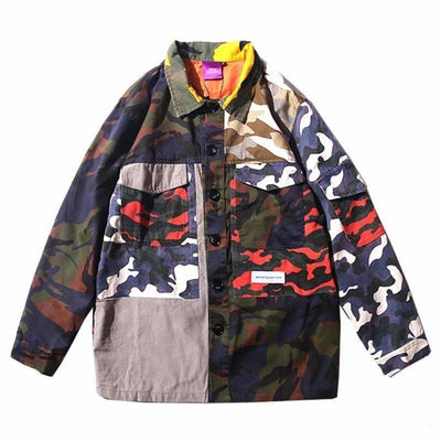 VESTE PATCH CAMO