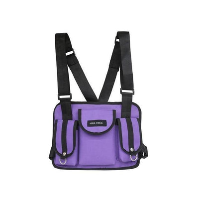 Veste Tactique HGUL + BAG V1™ - Violet