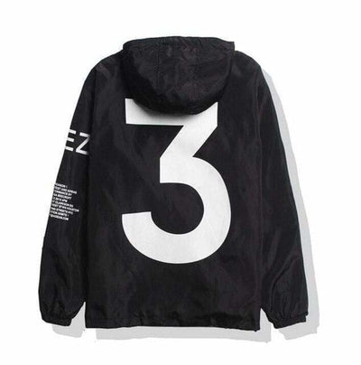 VESTE THREE - Black / M