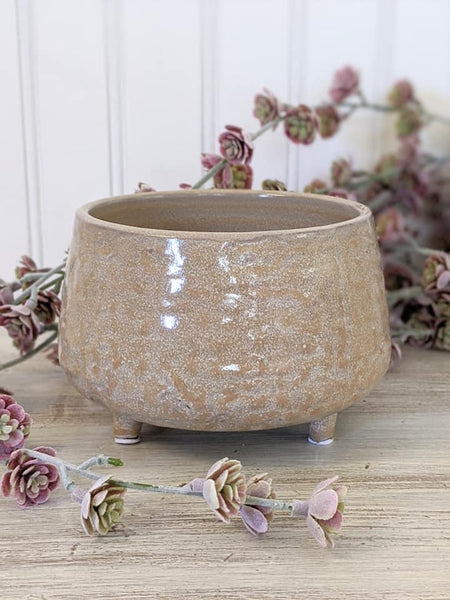 Stoneware Footed Bowl