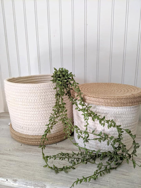 Rope Storage Baskets Set/2