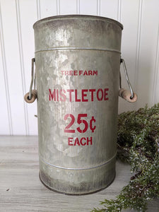 Mistletoe Bucket