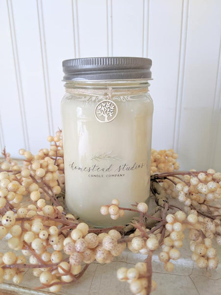 Homestead Studios Soy Candle Jar