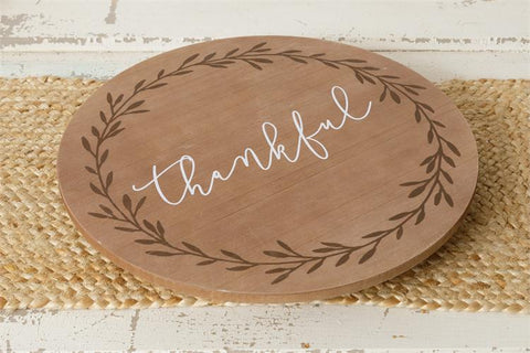Thankful Lazy Susan
