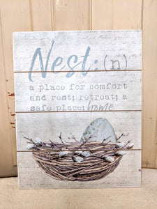 Nest Wall Art