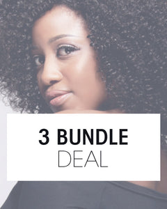 3 Bundle Deals TISSAGES (PAS DE CLIPS) - BD02