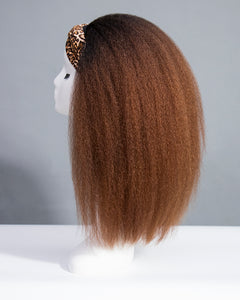 Blow Out My Ombre Band Wig-HBWIG15
