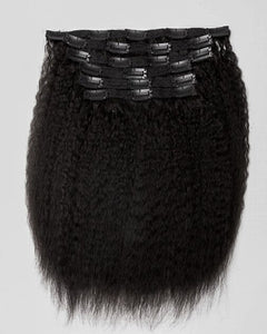 Extensions de cheveux clips-in texture CRÉPUE BLOW OUT-KBC01