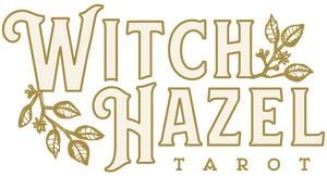 Witch Hazel Tarot online tarot readings logo