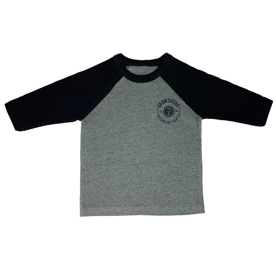 Kids Baseball T-Shirt with Raglan Sleeves