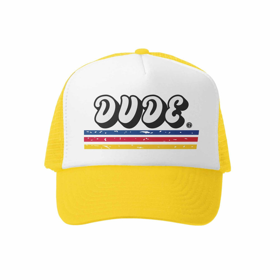 Kids Trucker Hat - Dude