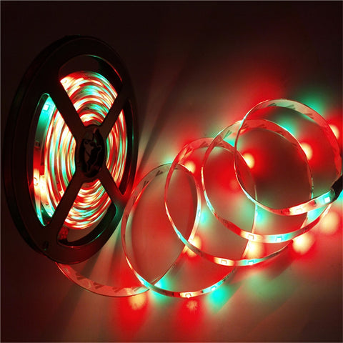 SUPli LED Strip Set 20M Waterproof 1200LEDs 2835 RGB Strip Light 44Key IR Remote Controller 8A Power Supply AC100-240V