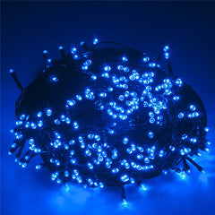 SUPli Solar Battery Powered Christmas String Lights 10M 100 LED Dual Power Decorative Fairy String Lights