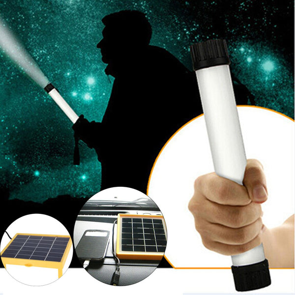N780 Multi-use 25 LED Solar Light Lamp USB Flashlight Torch Power Bank for Camping Hiking