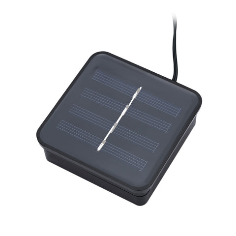 SS - 27 Solar Powered Waterproof Clip Shape String Lamp Light
