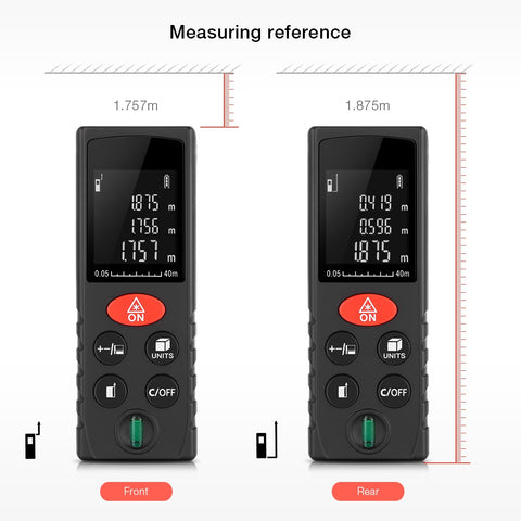 D40 High Accuracy Digital Laser Distance Meter Range Finder