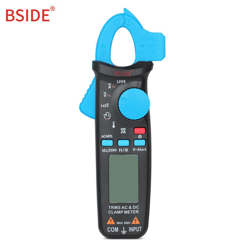 BSIDE ACM91 Digital Clamp Meter Current AC DC Voltmeter