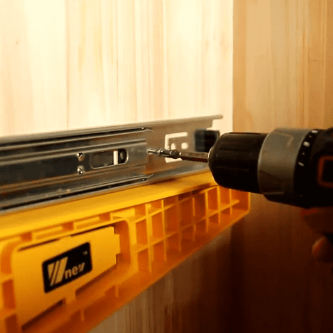 NE Drawer Track Installation Jig Auxiliary Positioning Holder