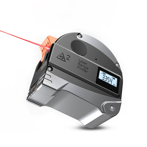 2 in 1 Laser Rangefinder Digital Tape Measure