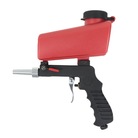 Portable Gravity Sandblasting Gun Pneumatic Small Sand Blasting Machine