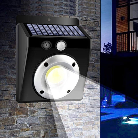 BRELONG Waterproof LED Solar Power Outdoor Wall Light