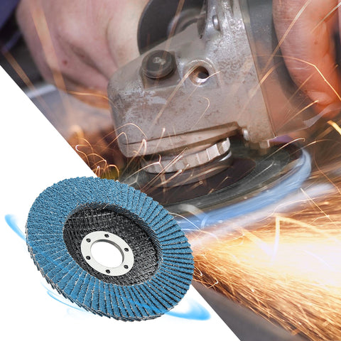 10PCS 125mm Professional Zirconia Flap Discs