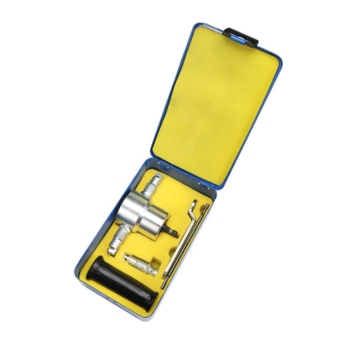 Double Chrome-plating Head Metal Sheet Nibbler Cutter Drill Tool with Iron Box