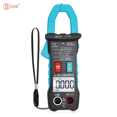BSIDE ZT - QB1 Clamp Multimeter Smart Digital Voltage Current Resistance Test