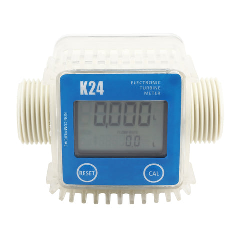 K24 Digital Turbine Flow Meter for Measuring Gasoline Diesel Kerosene
