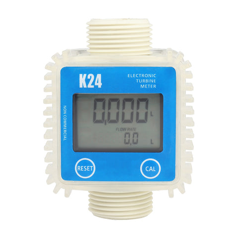 K24 Digital Turbine Flow Meter for Measuring Gasoline Diesel Kerosene Chemical Liquid