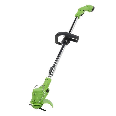 Cordless Grass Trimmer Lawn Mower with Adjustable Handle
