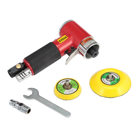 2 / 3 inches High-speed Pneumatic Grinding Machine with Pad Polishing Sanding Tools