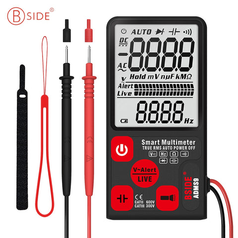 BSIDE ADMS9 Digital Multimeter Intelligent Ultra-thin Large Screen Display