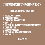 Cocoa & Orange Keto Snack Bars