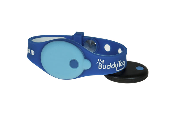 Buddy Tag with Blue/Blue Wristband