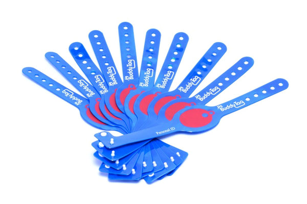Plastic Disposable Wristbands (10pcs)