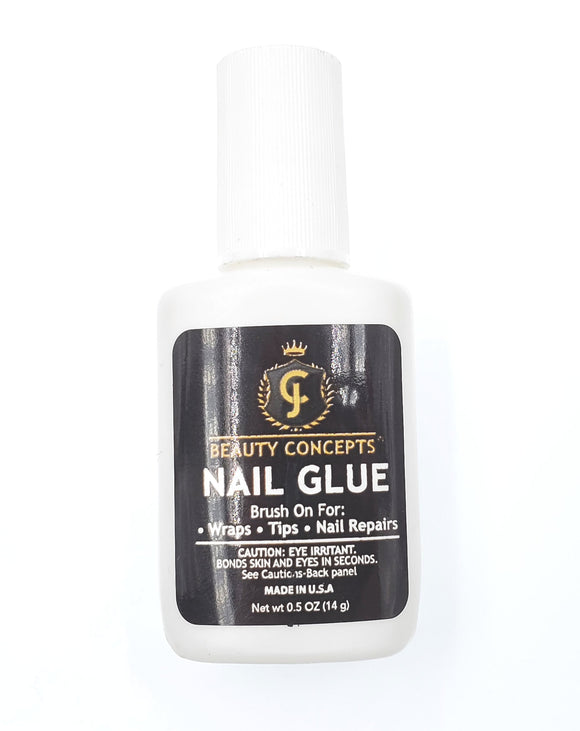 JC BEAUTY CONCEPTS- BRUSH ON NAIL GLUE