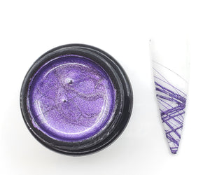 SPIDER GEL METALLIC PURPLE