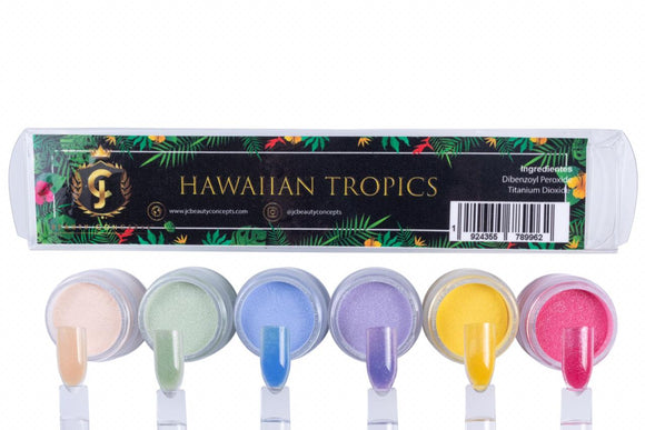 Hawaiian Tropics Acrylic Powder Collection