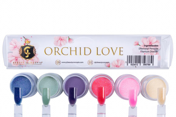 Orchid Love Acrylic Powder Collection