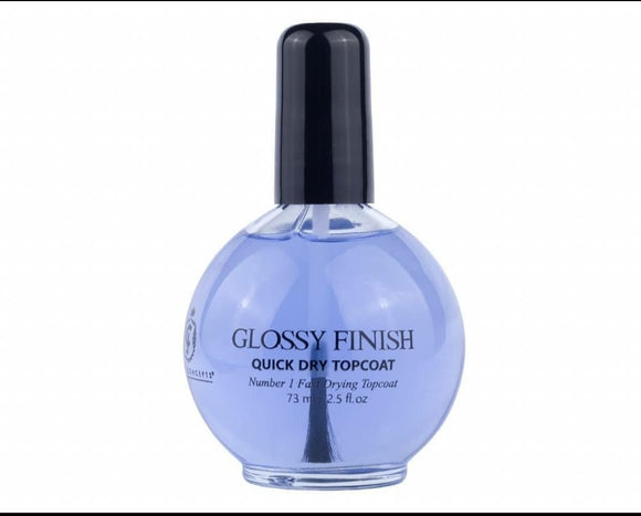 JC Beauty Concepts-GLOSSY FINISH 2.5oz Quick Dry Top coat