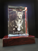 Load image into Gallery viewer, 3D Photo Crystal Tower (Personalized Laser Engraving)