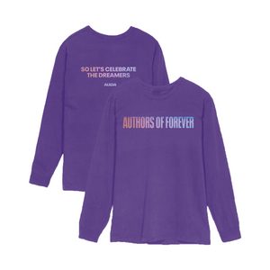 Authors of Forever T-Shirt - Purple-Alicia Keys
