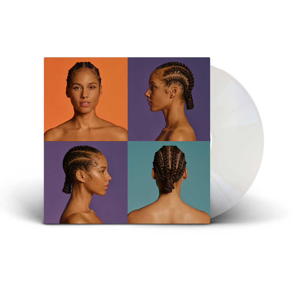 ALICIA Opaque White LP - Alicia Keys