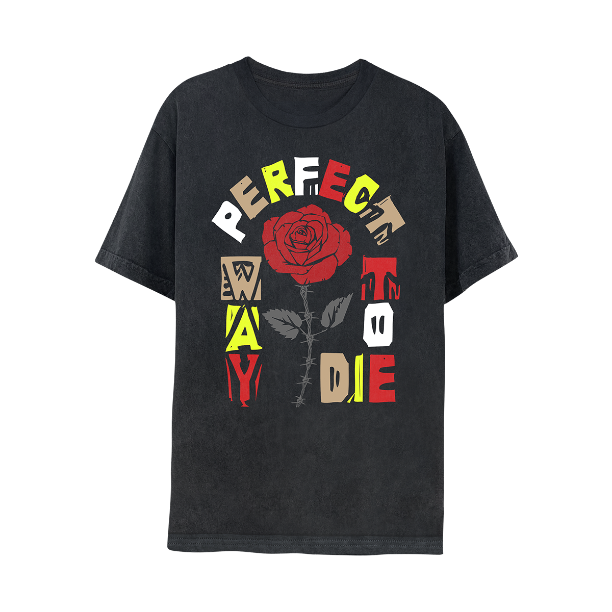 Perfect Way To Die Tee - Black