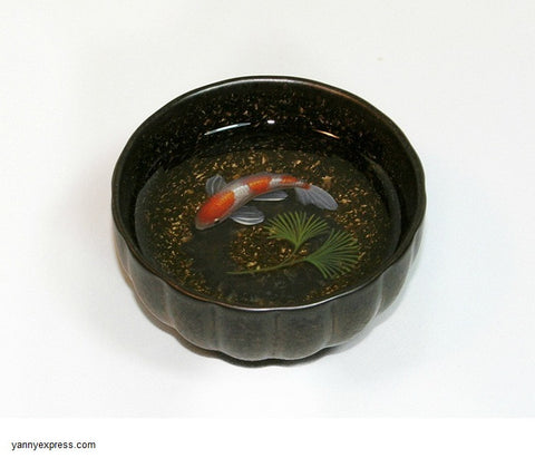 3D Fish Painting in Resin Water inspired by Riusuke Fukahori - YannyExpress  - 1